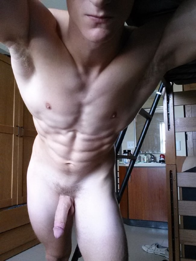 Boy With Hanging Cock