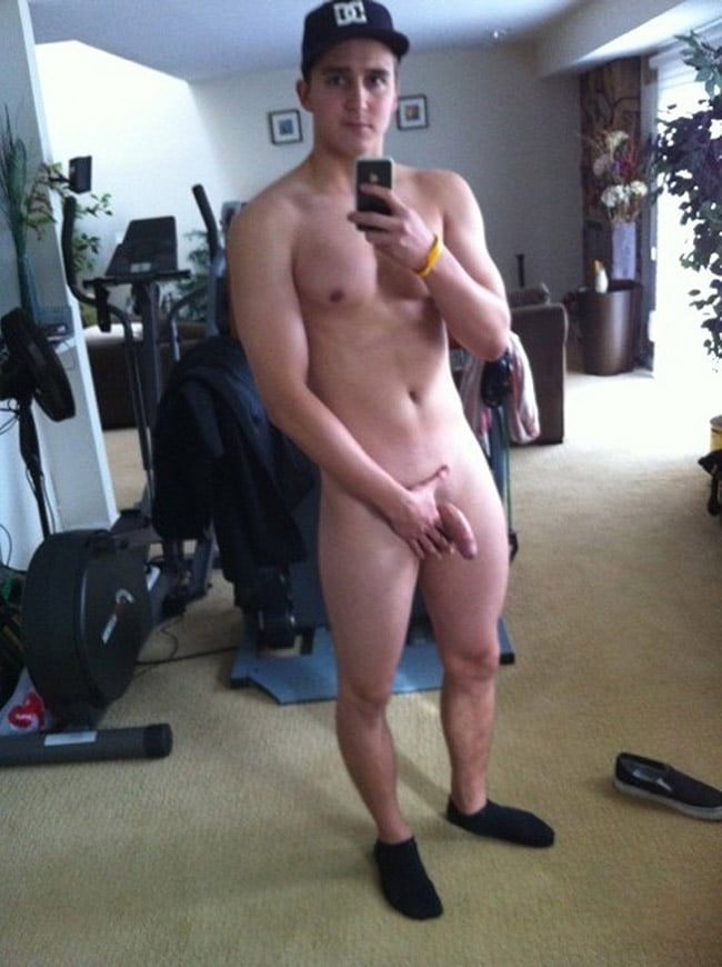 Nude Gays Blog - Nice Boy Is Showing His Soft Penis